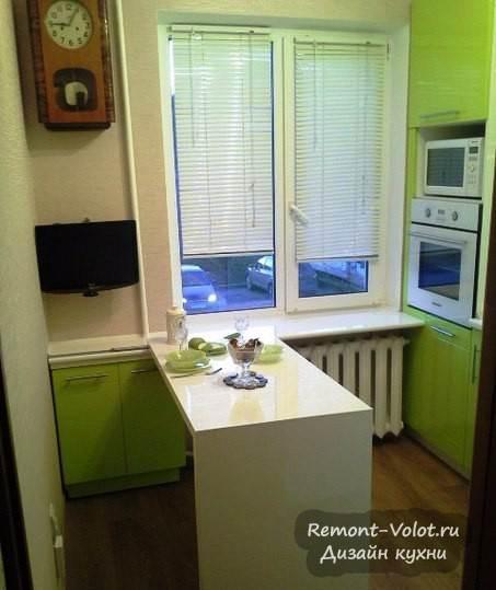 Дизайн кухни 6 кв.метров фото