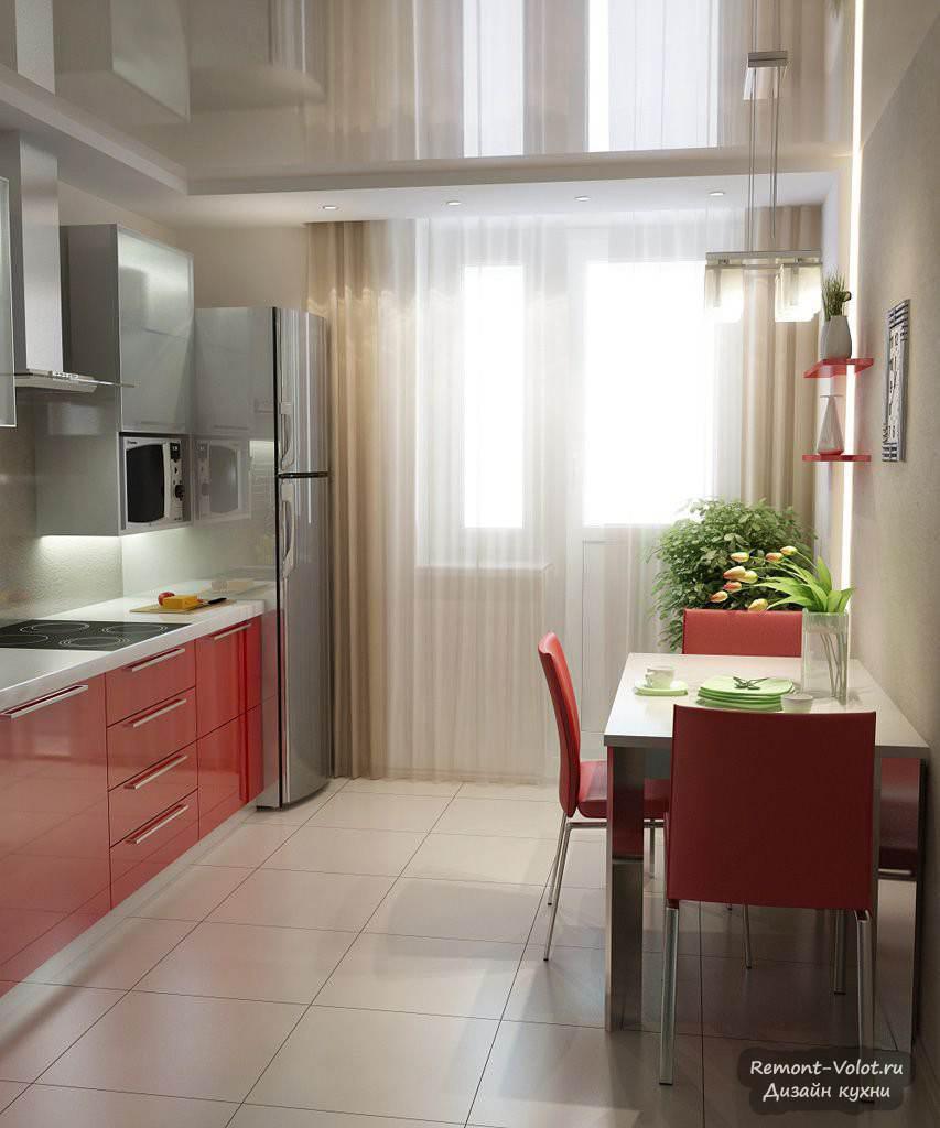 Дизайн кухни с лоджией - всё о балконе.