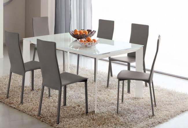 Обзор 12 современных моделей металлических стульев для кухни