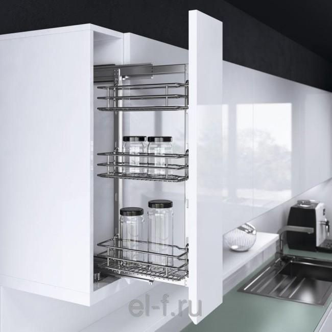 Выбираем бутылочницу (карго) для кухни. 20 примеров с фото