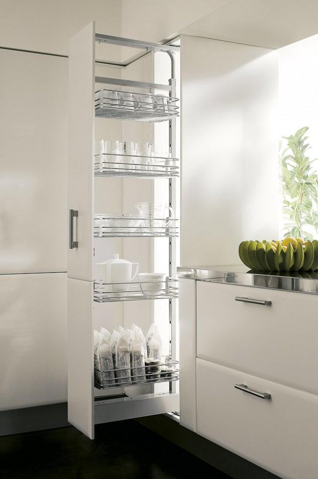 Бутылочница как разновидность кухонного шкафа