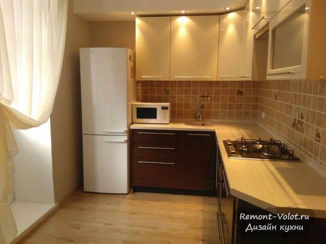Как выглядят кухни с линолеумом на полу? 25 интерьеров