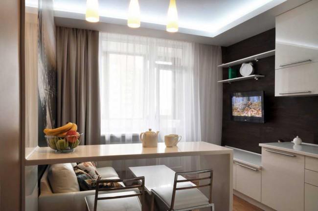 13 идей, как оформить кухню-гостиную 15 кв. м