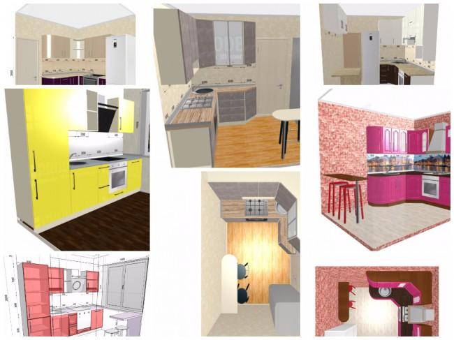Дизайн-проекты для маленькой кухни 5-7 кв.
