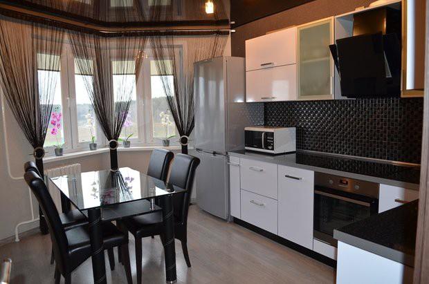 Ролл шторы для кухни фото