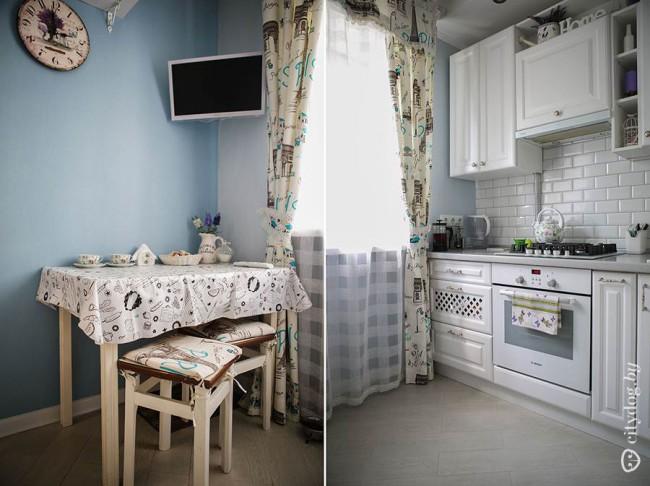 25 идей, как оформить маленькую кухню в стиле прованс