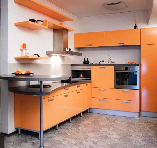 Защитный слой линолеума для кухни