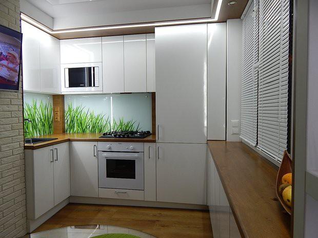 Какие жалюзи подойдут для маленькой кухни?