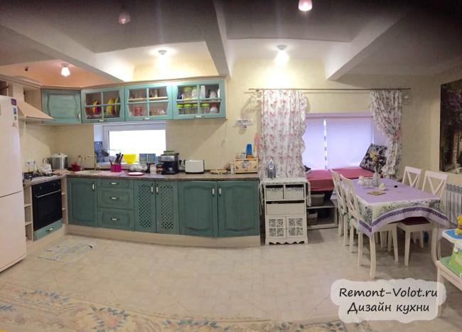 Кухня 20 кв м со стиральной машиной в частном доме в Севастополе