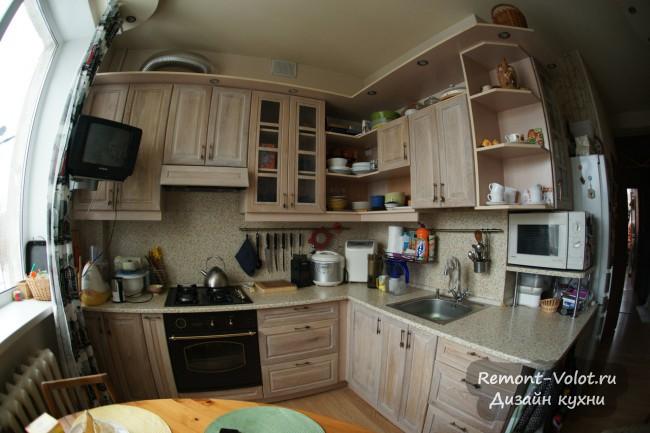 Дизайн кухни 8 кв. м с газовым котлом: изготовлена своими руками