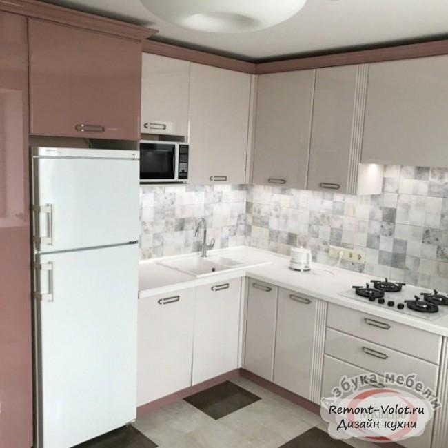 Современная кухня в классическом стиле 12 кв. м