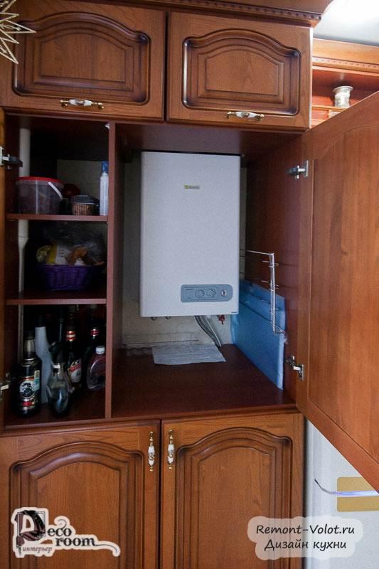 Можно ли установить газовый котел на кухне в частном доме?